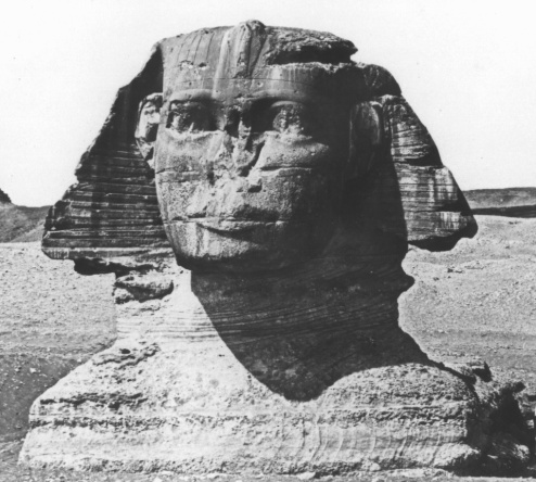 The Sphinx's nose is believed to have been carelessly shot off by French or British troops during the 19th century.