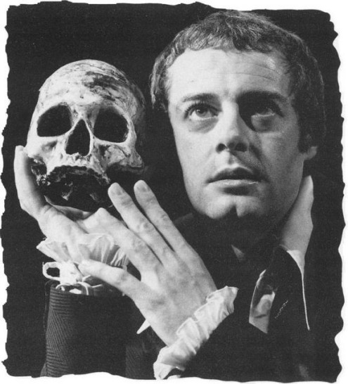 Shakespeare's tortured prince weighing the value of mankind.